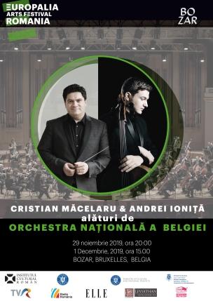 Ionita Macelaru Orchestra Nationala a Belgiei